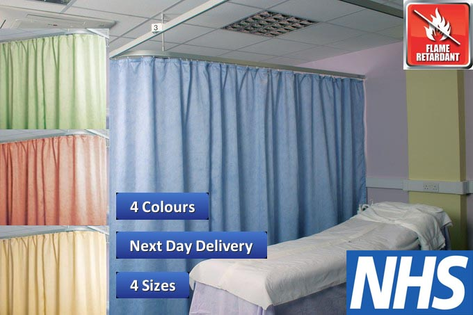 Washable Cubicle Curtains Flame Retardant Direct Fabrics