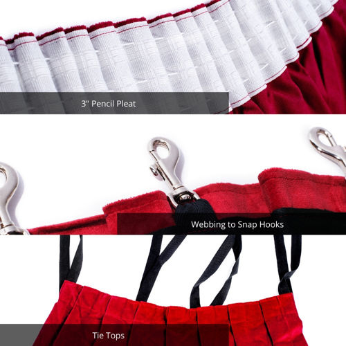 Curtain Heading Styles Guide Direct Fabrics