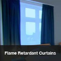 Flame Retardant Curtains UK Made.