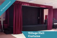 Village Hall Drapes