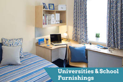 University and school contract furnishings