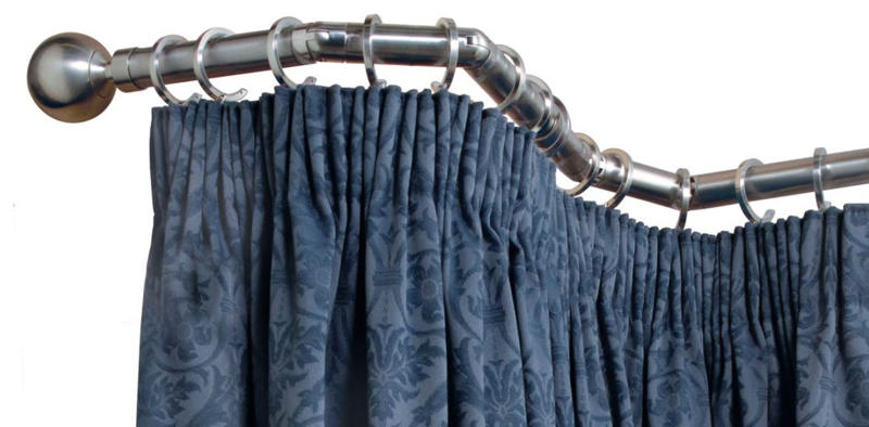 Curtains Ideas bay window curtain rod set : How To Fit A Bay Curtain Pole / Direct Fabrics Blog :Direct Fabrics