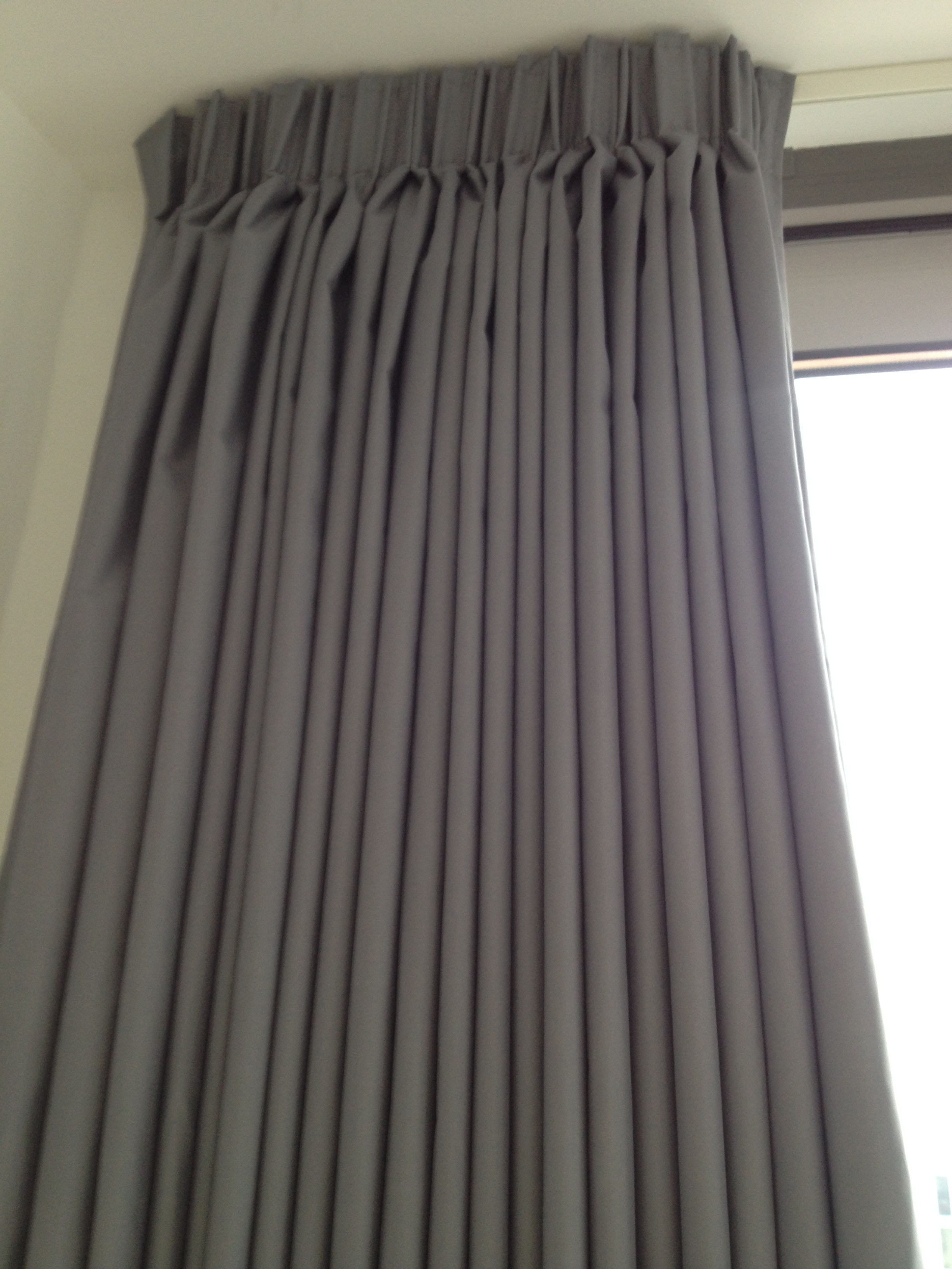 Image Result For How To Make Pencil Pleat Curtains