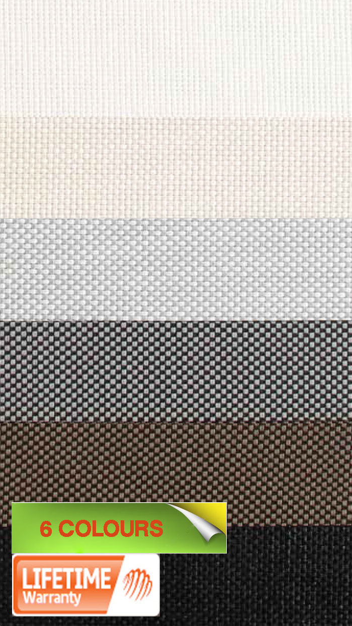 ORE Solar control Roller Blinds Flame Retardant