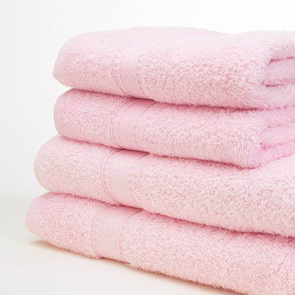 Baby Pink Towels Direct Fabrics
