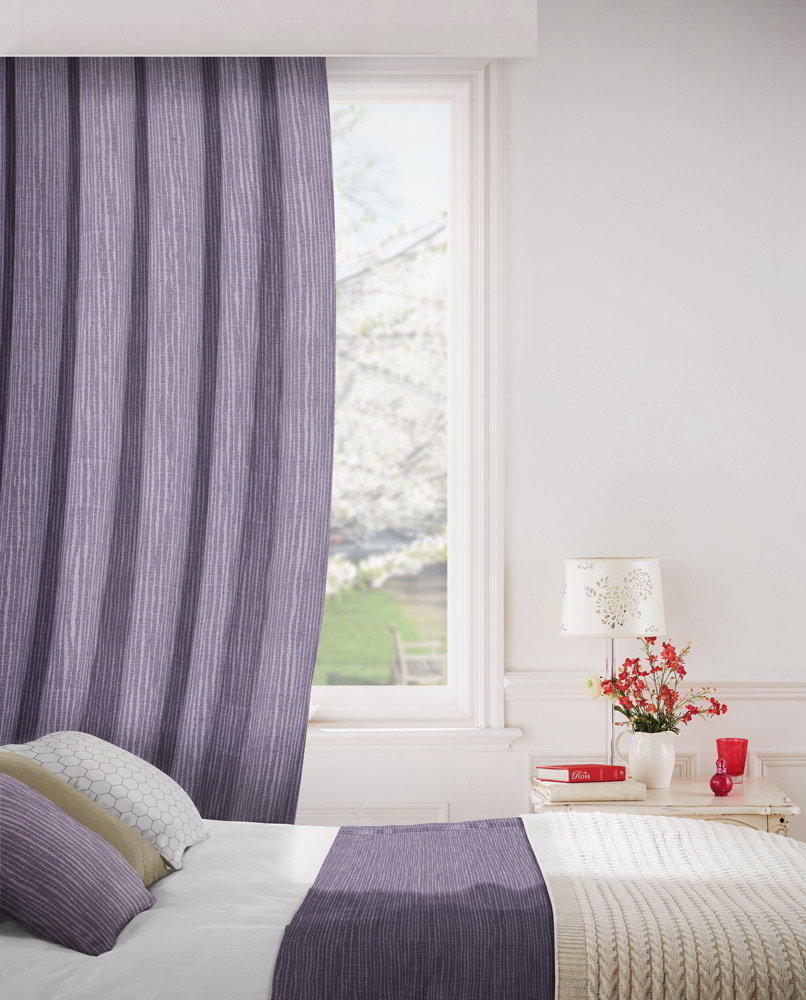 Breeze 648 Fig Fire Resistant Curtains Direct Fabrics