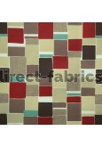 Jitterbug 480 Red Beige Curtains