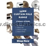 35mm Contract Curtain Pole Range
