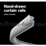 4800 Hand drawn Curtain Track