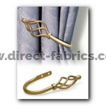 19mm County Crown Holdback Pk2 Gilt