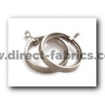 28mm  Lined Rings Pk8  Satin Silver
