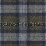 St Andrews Wool FR Fabric Olivine
