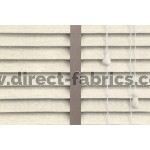 Venetian Blinds Wood Cream Embossed Stone Ladder Tape