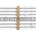 Venetian Blinds Wood White Embossed Gold Ladder Tape