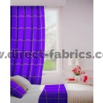 Albury in Heather Flame Retardant Curtain