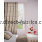 Albury in Pebble Flame Retardant Curtain