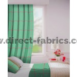 Albury in Topaz Flame Retardant Curtain