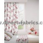Amelia 687 Pink Stone Fire Resistant Curtains