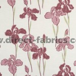 Amelia 687 Pink Stone Flame Retardant Curtains