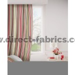 Arcadia 430 Red Gold Curtains Room Shot Mock up