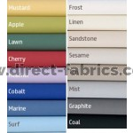 Avon Dimout Vertical Blinds 16 Colours