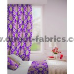 Beaumont in Heather Flame Retardant Curtain