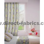 Beaumont in Pewter Flame Retardant Curtain