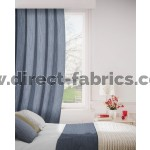Breeze 903 Charcoal Curtains Room Shot Mock up