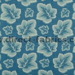 Burley 179 Blue Cream Fire Resistant Fabric