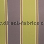 +Capital Stripe 264 Lime Purple Fire Resistant Curtains
