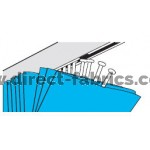 Curtain Insertion Point for Cubicle Curtain Track
