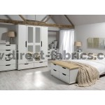 Curvaceous Furniture Set White Colour