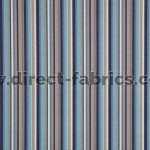 Dandy 109 Sky Indigo Fire Resistant roman blinds