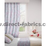 Dash 478 Red Mink Curtains Room Shot Mock up