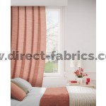 DF Connect Terracotta Flame Retardant Curtains