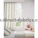 DF Forest Ochre Flame Retardant Curtains