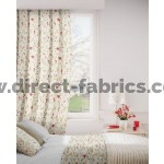 DF Forest Rouge Flame Retardant Curtains
