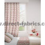 DF Stratosphere Scarlet Flame Retardant Curtains