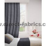 DF Viceroy Charcoal Flame Retardant Curtains