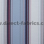Edge 196 Heritage Blue Fire Resistant roman blinds