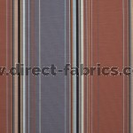 Edge 748 Pecan Spice Fire Resistant roman blinds
