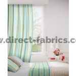 Fiesta 171 Turquoise Lime Curtains Room Shot Mock up