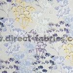 Flourish 137 Cornflower Gold Fire Resistant Fabric