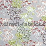 Flourish 481 Damson Fire Resistant roman blinds