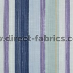 Fresco 137 Cornflower Gold Fire Resistant roman blinds