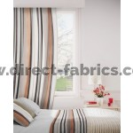 Fresco 794 Mocha Henna Curtains Room Shot Mock up