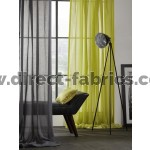 Illusion room shot, Fire Resistant lime green Curtains