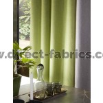 Iris blackout curtain fabric green curtain