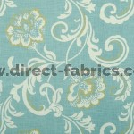 Isabella 134 Sky Fire Resistant roman blinds