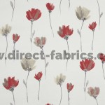 Juliet 471 Red Mocha Fire Resistant Fabric